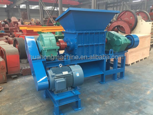 New low price used truck/bus tire shredder machine for sale