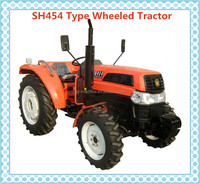 2016 agriculture machinery -Chinese top brand 40hp diesel farm 4*4 tractor SH454 wheels tractors