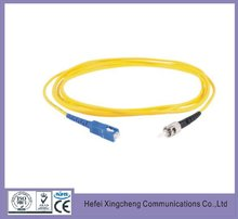 Plastic optical optics fiber 9/125 single model good quality Jumper from China