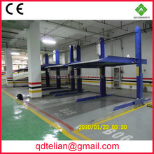 PTJ201 smart parking system car ramp/doube parking two post hydraulic parking lifts and auto stacker
