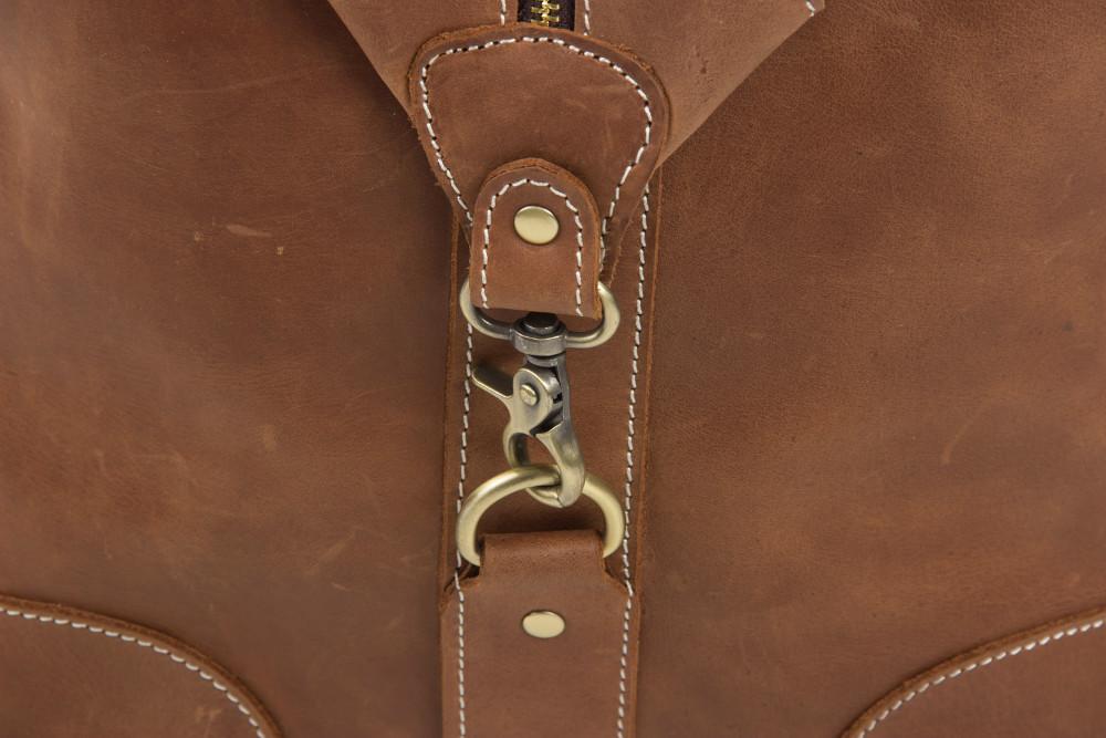 2016 Antique Custom Wholesale Top Grain Genuine Leather MensTravel Duffle Bag Holdall Luggage for Overnight Weekender   (10).jpg