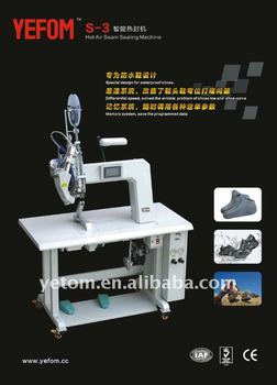 hot air seam sealing machine for waterproof shoes
