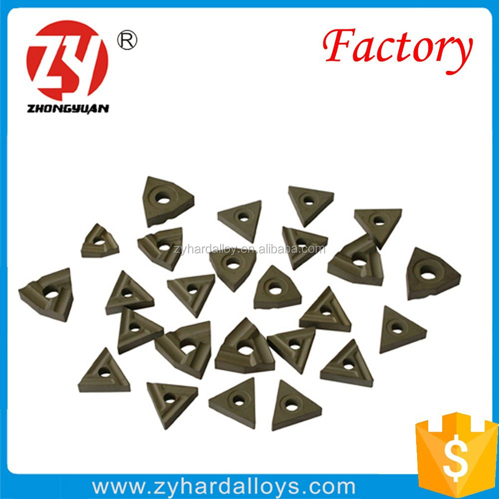 YG6 P30 K10 cnc Indexable carbide Inserts