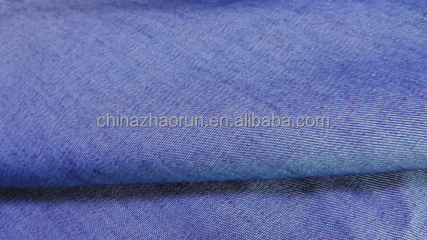 Good stretch twill cotton spandex denim 98% cotton 2% spandex