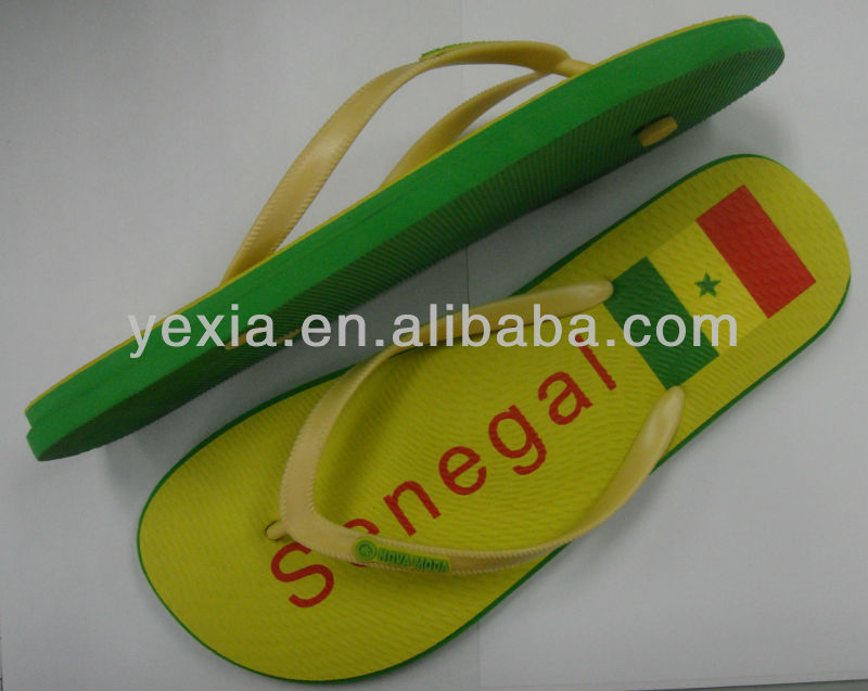 New Fashion flag pring beach sandals