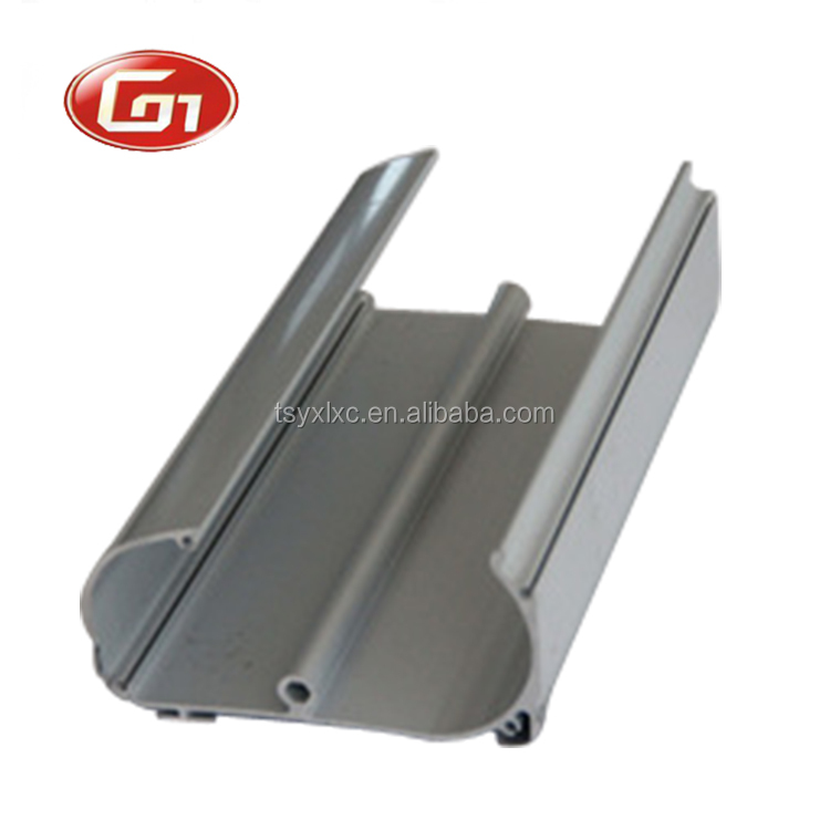 Custom anodizing aluminium extrusion profile for solar panel holder
