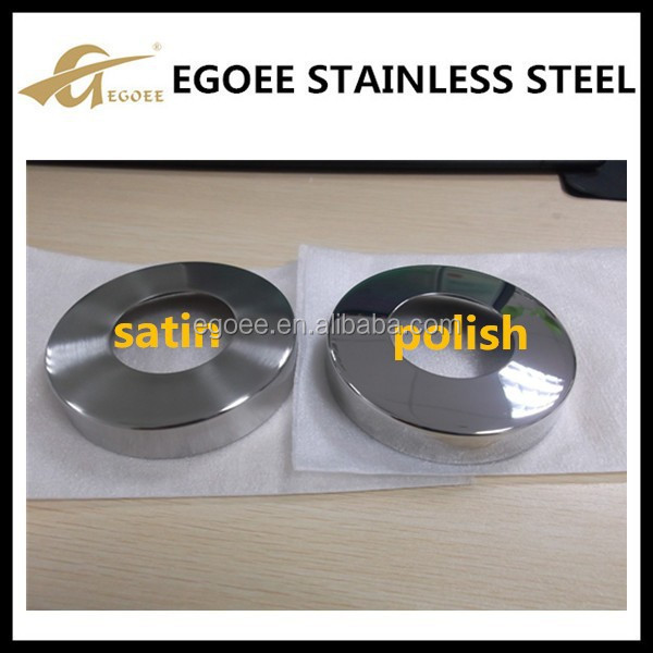 50mm stainless steel handrail post pipe cover