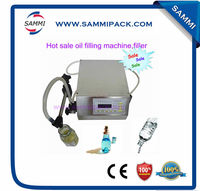 Cheapest Digital Control Liquid Filling Machine , Electric Liquid Bottling Machine