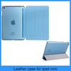 Cheap ! Super Thin With Folding Smart Stay Function Leather Case For ipad Mini