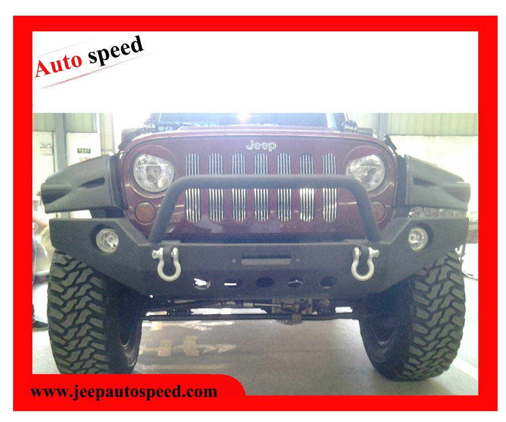 Front bumper for JEEP WRANGLER JK (without light)(can put winch on it)