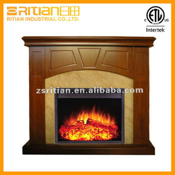 Decor flame electric fireplace with remote modern electric for Decor flame electric fireplace