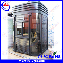 Prefab security guard house security guard house with toilet