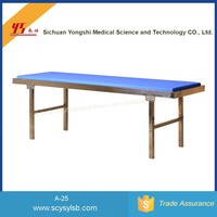 Durable Steel Frame Hospital Diagnostic Examination couch bed for patient