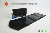 15W deluxe solar recharging kit for iphone, ipad,Android Smartphone: HTC,Samsung,Nokia ,Blackberry, more devices