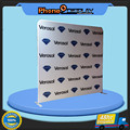 10ft durable Easy retractable backdrop fabric wall display