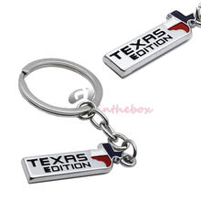 Texas Edition Key Chain Fob Ring chain For Ford F-150 F-250 Chevy GMC Dodge, etc
