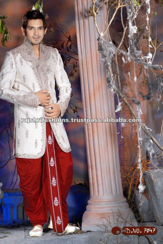 Indian Ethnic Wedding Designer Sherwani