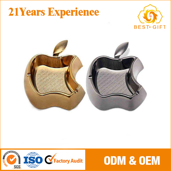 custom apple design ashtrays with stands antique for club