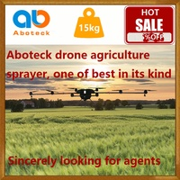 uav drone crop sprayer professional rc agriculture aircraft 15kg payload on sale