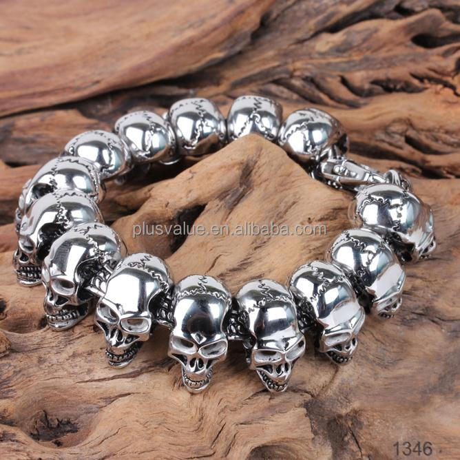 wholesale high quality big heavy istanbul turkey jewelry manufacturers Stainless steel bracelet