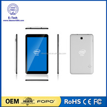intel tablet pc 7 inch TN (IPS ) panel Intel Bay Trail Atom Z3735G Quad-core 2500MA li battery android tablet