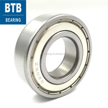 Motorcycle Wheel Bearing Deep Groove Ball Bearings 6205 z bearing