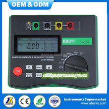 Digital Earth Tester DY4300 Ground Resistance Tester Meter china supplier