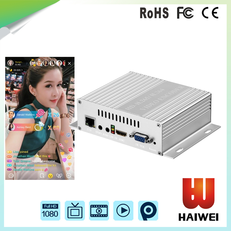H5110B H.265/H264 mpeg4 live streaming encoder for youtube,hdmi rtsp encoder video streaming server