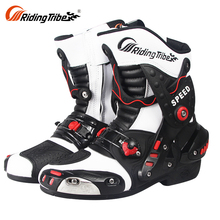 Cheap Motorcycle Riding Casual Hiking Black Motorcycle Biker Leather Shoes