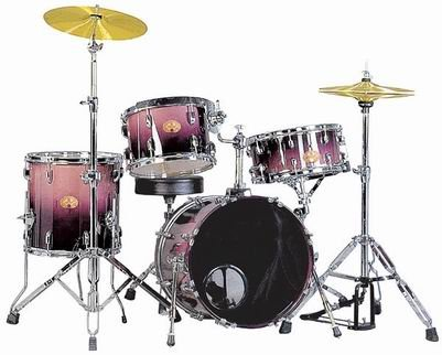 SN-4004 4-PC Drum Set(Maple), pearl drum set, tama drum set