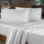 Full Size 300TC Customizable 100% Cotton Hotel Fitted Bed Sheet
