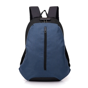 Hot sell anti theft backpack with USB charging port School business Laptop backpack