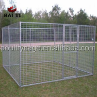 High Quality Beautiful Strong PVC Dog Kennel Fence Panel
