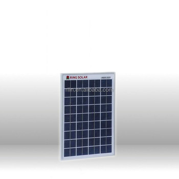10W Poly Solar panel 18V with All certification