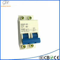 2 pole 100 amp mcb moulded circuit breaker