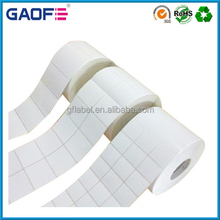 Blank Labels Self-Adhesive On Rolls, RFID Tag Paper Material, Barcode Printing Paper