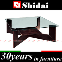 Folding coffee table / perspex coffee table / tempered glass coffee tableTA55