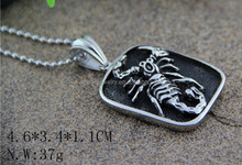 Popular Scorpion Pendant Jewelry 316L Men's Stainless Steel Pendant