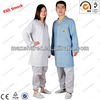 ESD garment,esd smock, 5 mm grid fabric