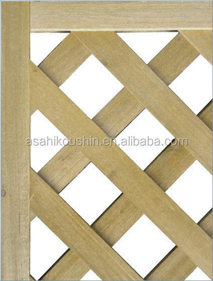 f r den au enbereich garten acq behandeltem holz gitter panels zaun gitter t r produkt id. Black Bedroom Furniture Sets. Home Design Ideas