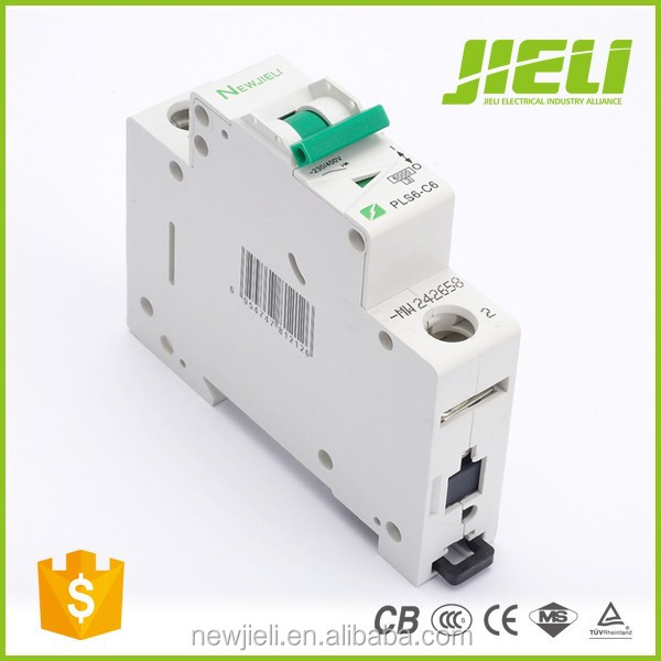 High breaking capacity L7 1A 2A 3A 4A 5A 6A 10A 16A 20A 25A 32A 40A 50A 63A mini circuit breaker MCB