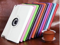 mini case with magnetic 360 Rotating Smart Cover For iPad 5