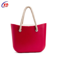Fashion Environmental Protection standard size O hand bag rubber bag silicone tote bag For Promotion
