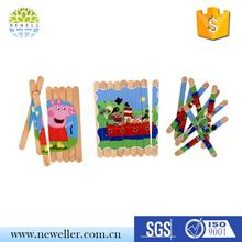 Wholesale market 5%-17% discount art and craft from ice cream sticks with many size