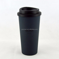 Double wall stainless steel starbucks thermos coffee mug