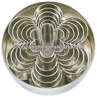 Stainless Steel Flower Shape Cake Moulding Cutter