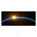 Planet View Blue Earth 1 Panel Canvas Painting Space Sunrise Poster Pictures for Wall Decoration Modern Hd Art Print on Canvas