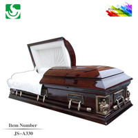 Factory sale funeral supply wholesale casket decoration