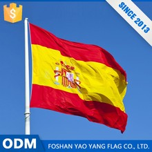 Top Sales Custom All Country Flag Of Spain To Print