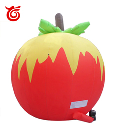 Cheap new design giant inflatable apple,inflatable tomato